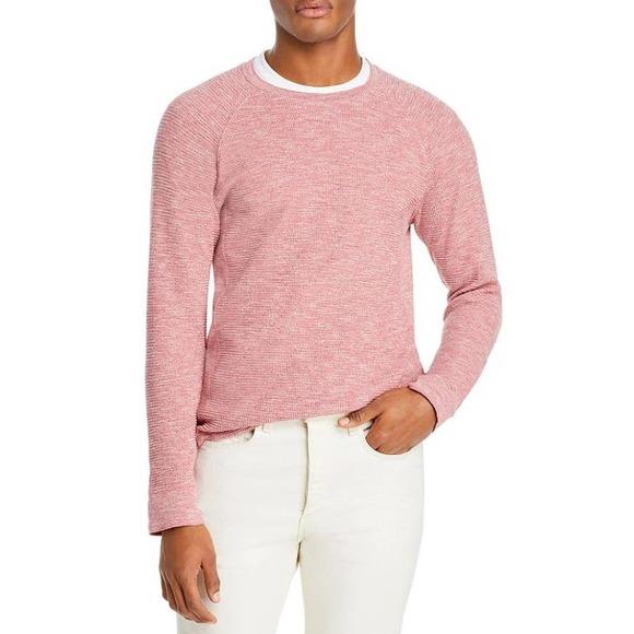 Vince Men's Mouline Thermal Crew Shirt Size XS